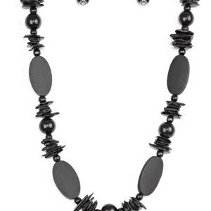 paparazzi Jewelry - Carefree Cococay - Brown Necklace Set